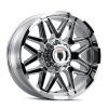 AMERICAN TRUXX AT151-20952C-0 AMERICAN TRUXX GRIND AT151 CHROME 20X9 6-135 0MM 87.1MM AT151-2936C0