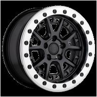 Black Rhino 1570GRV155100F72 BLGRV 15X7 5X100 M-BLK-MCHRG 15MM