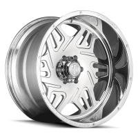 AMERICAN TRUXX FORGED ATF1908-241491P ORION AMERICAN TRUXX FORGED ORION ATF1908 POLISHED 24X14 8-165.1 -76MM 125.2MM ATF1908-24481-76P