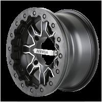MSA Offroad Wheels F1-04710 MA01 14X7 4X110 MACH S-BLK 00MM