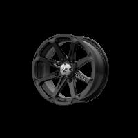MSA Offroad Wheels M12-04710 MA12 14X7 4X110 G-BLK 10MM