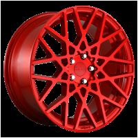 Rotiform 1PC R1091885F8+45 R109 18X8.5 5X112 GL-RED 45MM